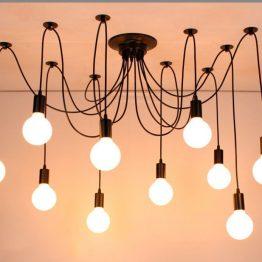 đèn thả trần shop thời trang