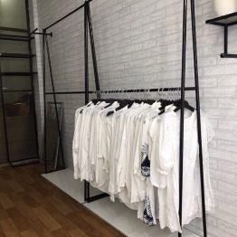 giá treo quần áo 2 tầng
